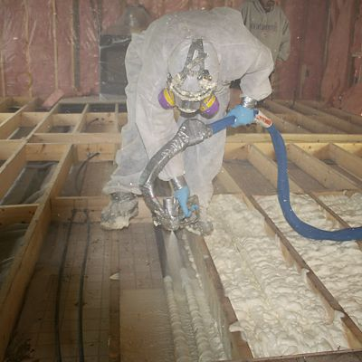 Spray Foam Insulation   Pro Insulators   Mansfield, MA 02048