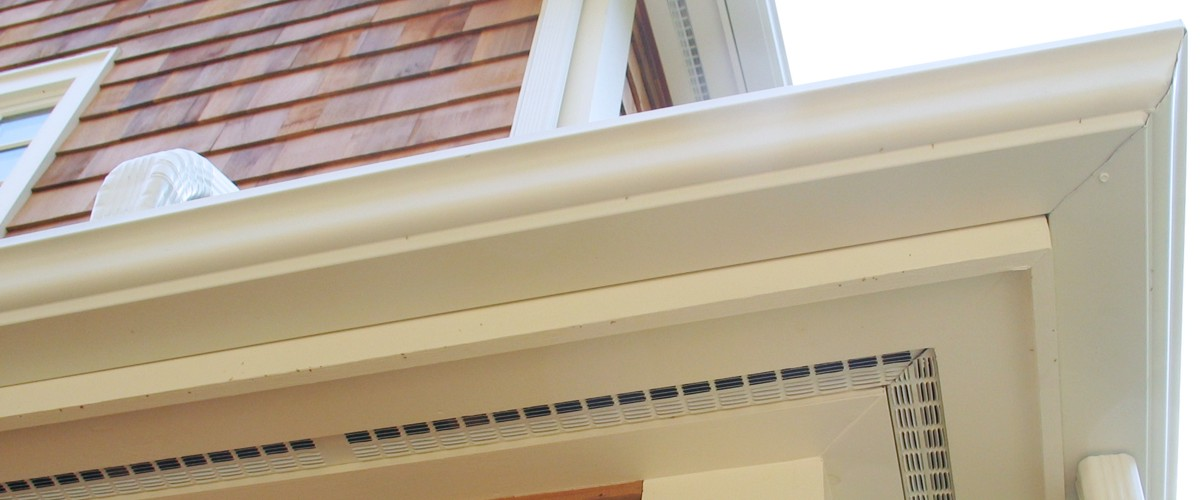 Seamless Gutters Installed